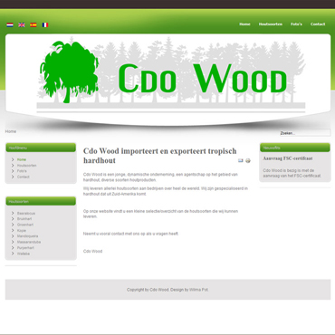 Topzone - Portfolio-website - Cdo Wood