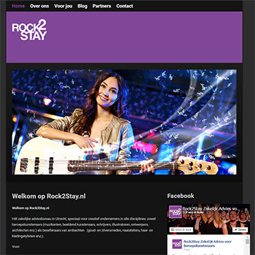 Topzone - portfolio website - Rock2Stay