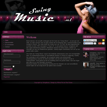 Topzone - portfolio website - Swing Music